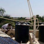 Defective plumbing work in Solar Water Heater