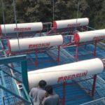 REDSUN solar water heater at Community Center Lonavala